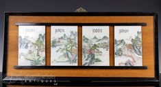#ad BEAUTIFUL SET OF 4 CHINESE HAND PAINTED PORCELAIN PLAQUES WITH LANDSCAPES http://rover.ebay.com/rover/1/711-53200-19255-0/1?ff3=2&toolid=10039&campid=5337950191&item=152973570933&vectorid=229466&lgeo=1