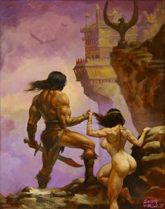 conan the barbarian art   Barbarians   Brian LeBlanc Studios   Page 3