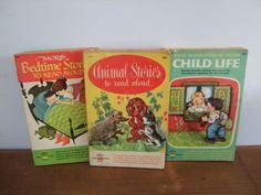 Vintage Read Aloud Stories Wonder Books Collection by jessamyjay on Etsy