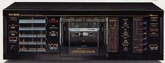 Nakamichi RX-505 Unidirectional Auto Reverse Cassette Deck (1983)