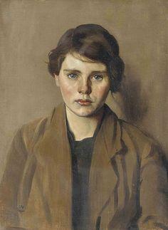 Isabel Codrington (British, 1874 - 1943): Phoebe (via Christie's)