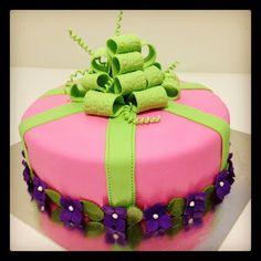 1-tier birthday cake