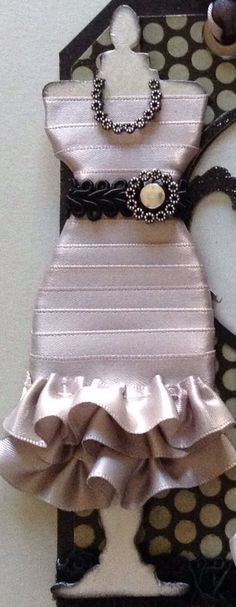 Aimee Dress Form-silver/black
