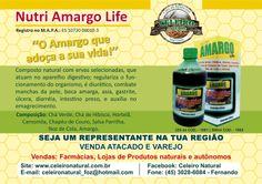 Composto natural com ervas selecionadas, que atuam no aparelho digestivo; regulariza o funcionamento do organismo, é diurético, combate manchas na pela.
