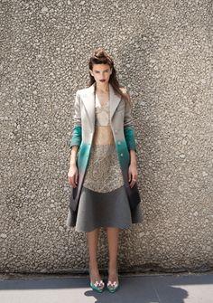 That jacket, that dress wow
