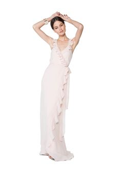 Blush pink Polly Dress by Joanna August