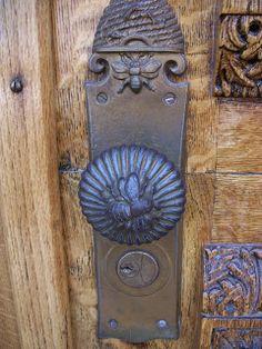 ≗ The Bee's Reverie ≗ Beehive Door Hardware