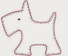 Aquí tenéis el tutorial para hacer un broche scotty dog: Materiales: *Fieltro, tijera, aguja e hilo, algodón y lazos y/o abalorios. ...