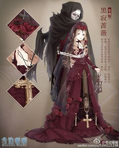 #шикакарно *Wedding gown for the bride of death.* -AZ