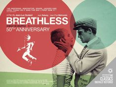french new wave movie posters | À bout de souffle (Breathless) – Jean-
