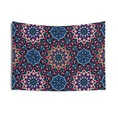 Colorful Mandala Wall Tapestry — HypeSheriff