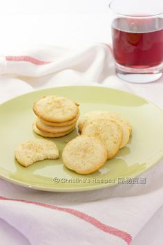 Lemon Almond Cookies (Chinese New Year) - Christine's Recipes: Easy Chinese Recipes