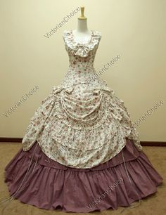 Civil War Southern Belle Dress like, but it needs sleeves