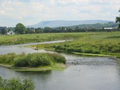 a Beauty Spot in the county of Lancashire. Pendle Hill from Ribchester