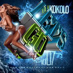 Let's Go 7 Mega Hits Workout Dance Party Mix Compilation DJ Kokolo