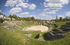 L'amphithéâtre - Saintes et la Saintonge - Office de Tourisme - Ville de Saintes - Art Roman
