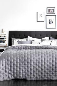 Scandinavian Interior, Comforters, Home Improvement, Blanket, House, Furniture, Headboards, Design, Bedrooms