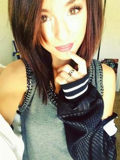 Im in love with Christina grimmies short hair!!!