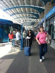 Viajar de ônibus pela Itália