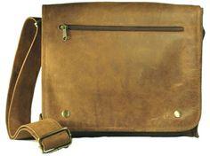 Adrian Klis leather cross body bag. Available at Leatheropia.com
