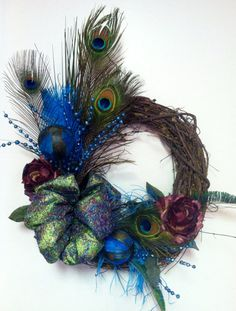 pheasant feathers wreath - Google Search