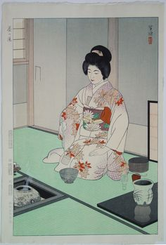 65 Best Chanoyu, prints by Chikanobu et al images in 2020 ...