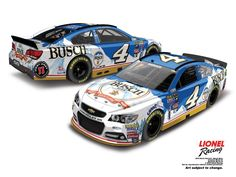 JUST REVEALED: Kevin Harvick's 2016 No. 4 Busch Beer Chevrolet SS -- http://www.lionelracing.com/search?keywords=busch%27s+beer…