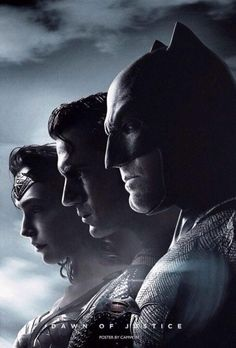 """DC's Trinity Lines Up In New """"Batman V Superman"""" Poster - Comic Book Resources"""