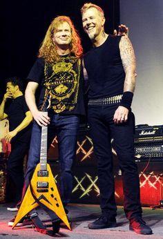 Dave Mustaine/James Hetfield