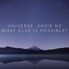 """""""✨What are the infinite possibilities? ✨Where can I put my energy now that will create the greatest possibilities?"""""""