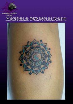 #tatuaje de un #mandala #mandalatattoo #diseñado por #iciarorozco de https://tarantulatattoo.com de #Malaga #tattoo #ink #inkmaster #tatuajesmalaga #zen #chakras #malagatattoo #budismo #espiritual