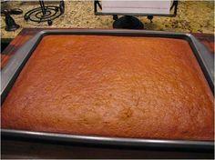 Big Mama's Home Kitchen: Pumpkin Banana Sheet Cake with Cream Cheese Frosting Banana Sheet Cakes, Vanilla Sheet Cakes, Sweets Cake, Cupcake Cakes, Fruit Cakes, Kos, Milk Bread Recipe, Sheet Cake Pan, Cake Recipes