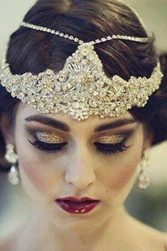 BEAUTY: Maxi makeup com inspiração Vintage dos anos 20. Lindo!