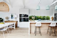 """DESIGNING YOUR DREAM KITCHEN. """"Your new kitchen should look like it was """"born there."""" That doesn't mean it has to be he exact same style as the house. It just means that it has to complement the spaces around it."""" Jamie Gold. READ MORE..."""