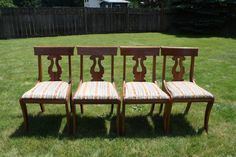 6 consider willett dining room chairs golden beryl maple - Craigslist rockford il farm and garden ...