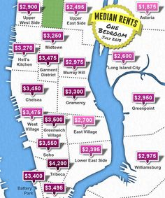 What's The Rent In Your 'Hood? #refinery29 how am I ever going to live in New York OMG