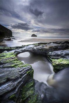 Cornwall - Trebarwith Strand (UK) Angie Latham