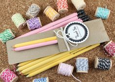 Love these pencil party packs from Write with Moxie!