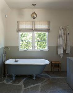 Amanda Pays and Corbin Bernsen's LA bathroom   Remodelista