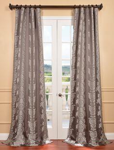 Surrey SmokeJacquard Curtain