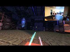 Lightsaber Gameplay DK2 Un-tethered #vr #virtualreality #virtual reality