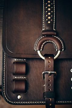 Leather bag, designed by Garbar.by
