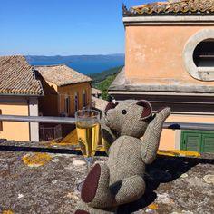 #tweedyted tasting #estestest on location in his penthouse #PalazzoFrigo #Montefiascone #Lazio