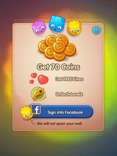 Inspiration Mobile #5 : Interfaces autour des jeux sur mobiles | Blog du Webdesign