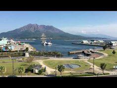 鹿児島市の風景|180度旋回 日本丸出港ショートバージョン