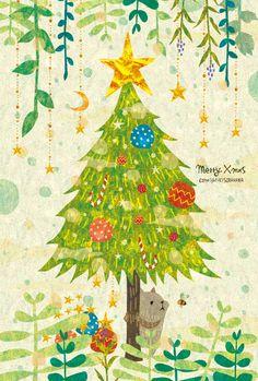 Merry Xmas. By Megumi Inoue. http://sorahana.ciao.jp/