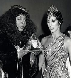 Donna Summer and Cher, 1978--- WOW!!!!