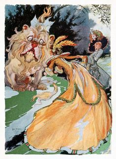 'The emerald city of Oz' by L. Frank Baum; illustrated by John R. Neill. Published 1910 by The Reilly & Britton Co., Chicago.