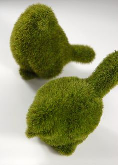 Table decorations. Moss Birds  5 (set of two birds)   $8.50 set