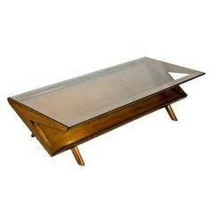 John Keal For Brown Saltman Mid Century Coffee Table Mcm Furniture Vintage